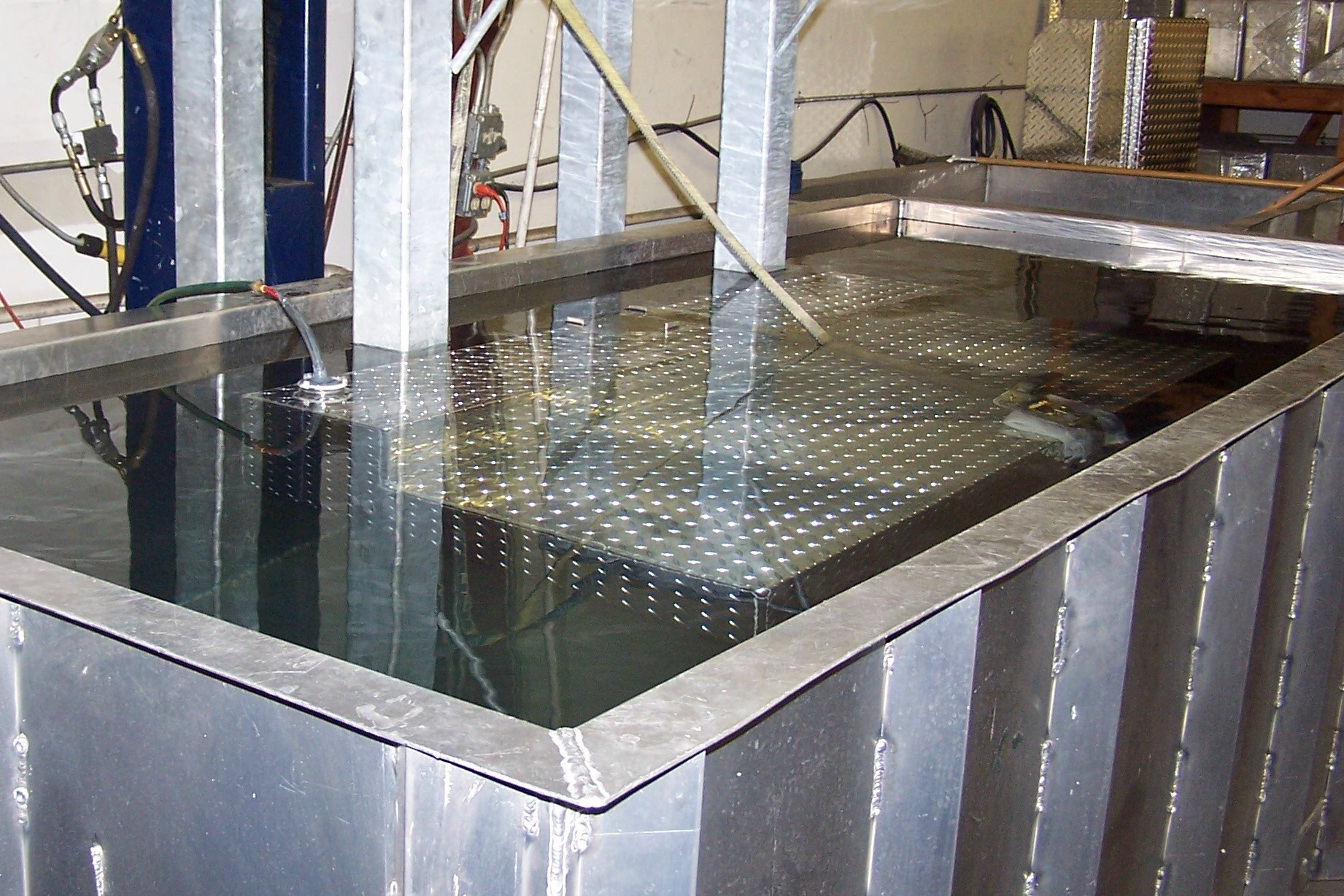 hydrostatic test tank