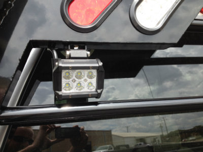 LED Work Light Option